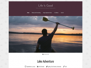 Life Is Good WordPress Theme